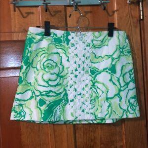 Lilly Pulitzer Mini Skirt, Size 10